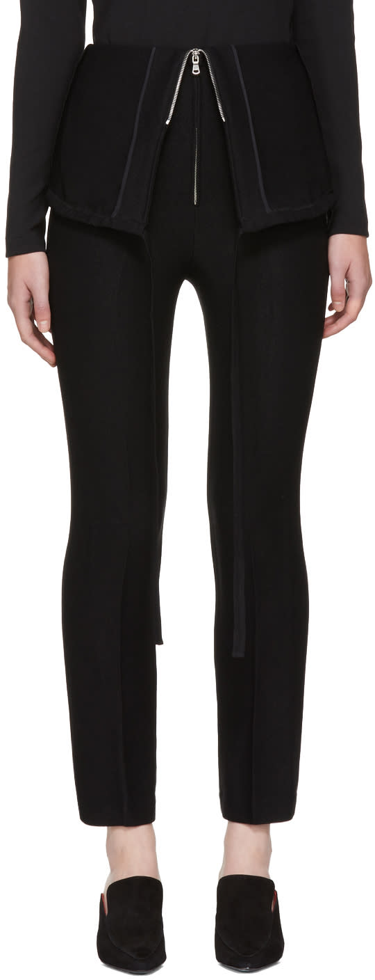 Image of Wendelborn Black Parachute Trousers