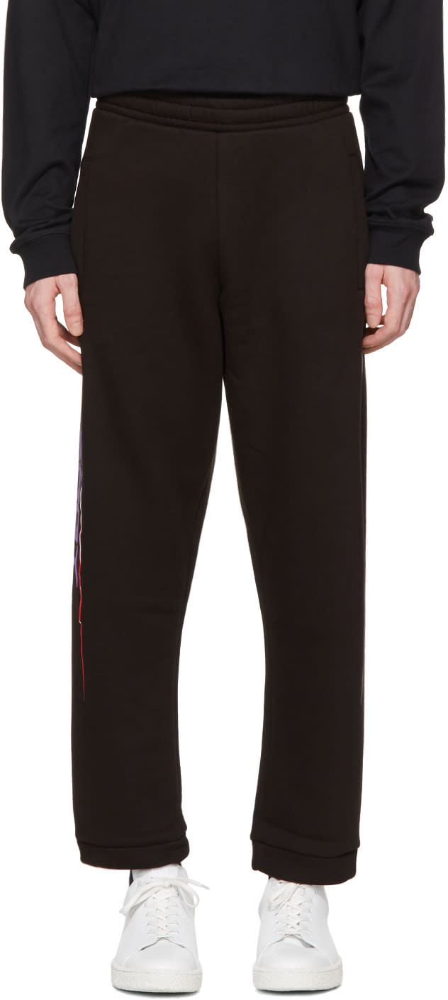 Image of 032c Black energy Lounge Pants