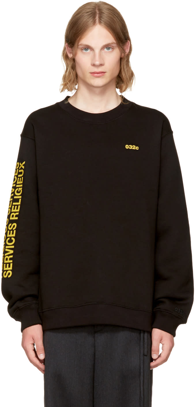032c Ssense Exclusive religious Services Sweatshirt