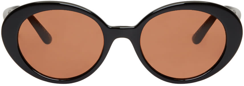 Oliver Peoples The Row Black Parquet Sunglasses
