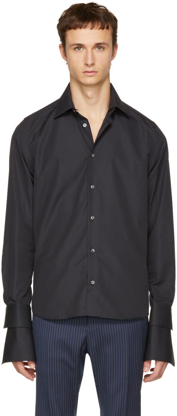 Image of Faith Connexion Black Double Sleeve Shirt