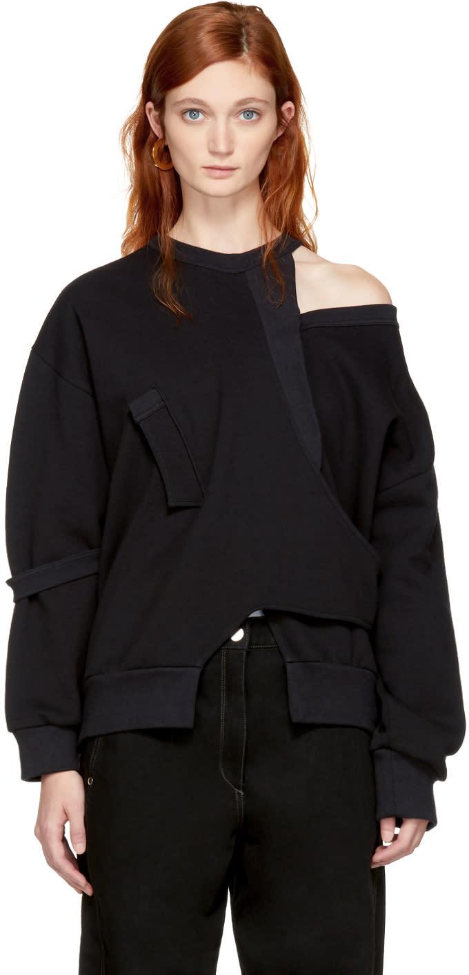 Image of Vejas Black Seasonal Interlocking Sweatshirt