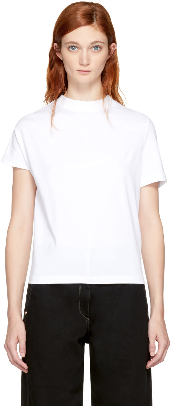 Image of Vejas White Phantom Dart T-shirt