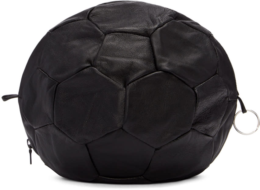 Image of Bless Black Football Clutch