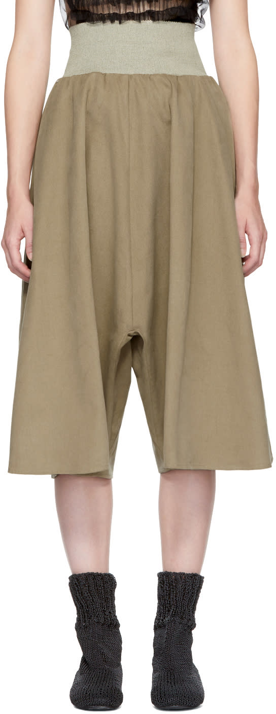Image of Bless Beige Zwickelrock Culottes