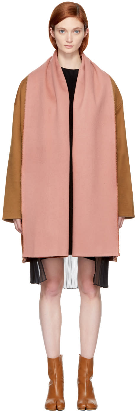 Image of Bless Brown Scheiff Scarf Coat