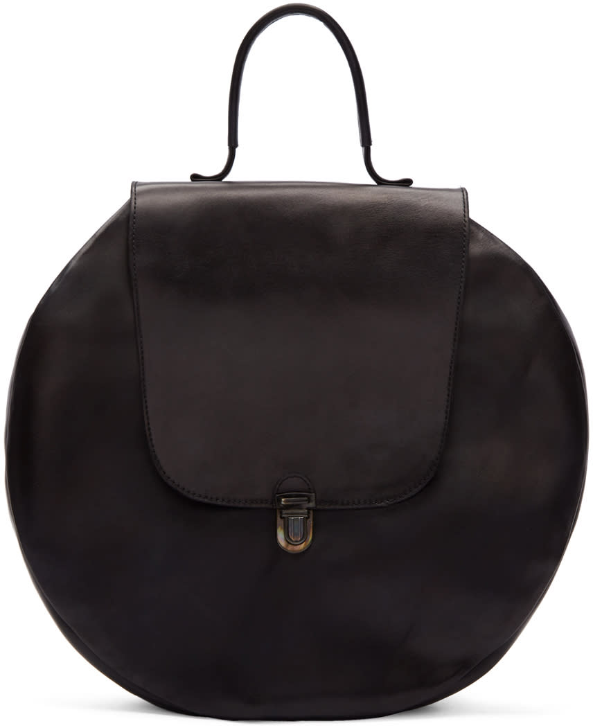 Image of Cherevichkiotvichki Black Circle Lock Bag