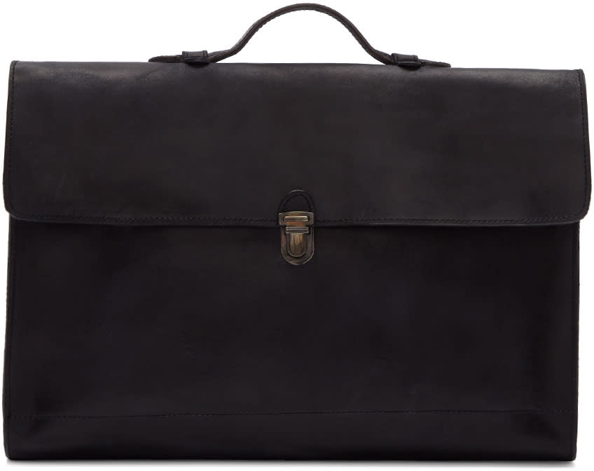 Image of Cherevichkiotvichki Black Unlined Pouch Bag