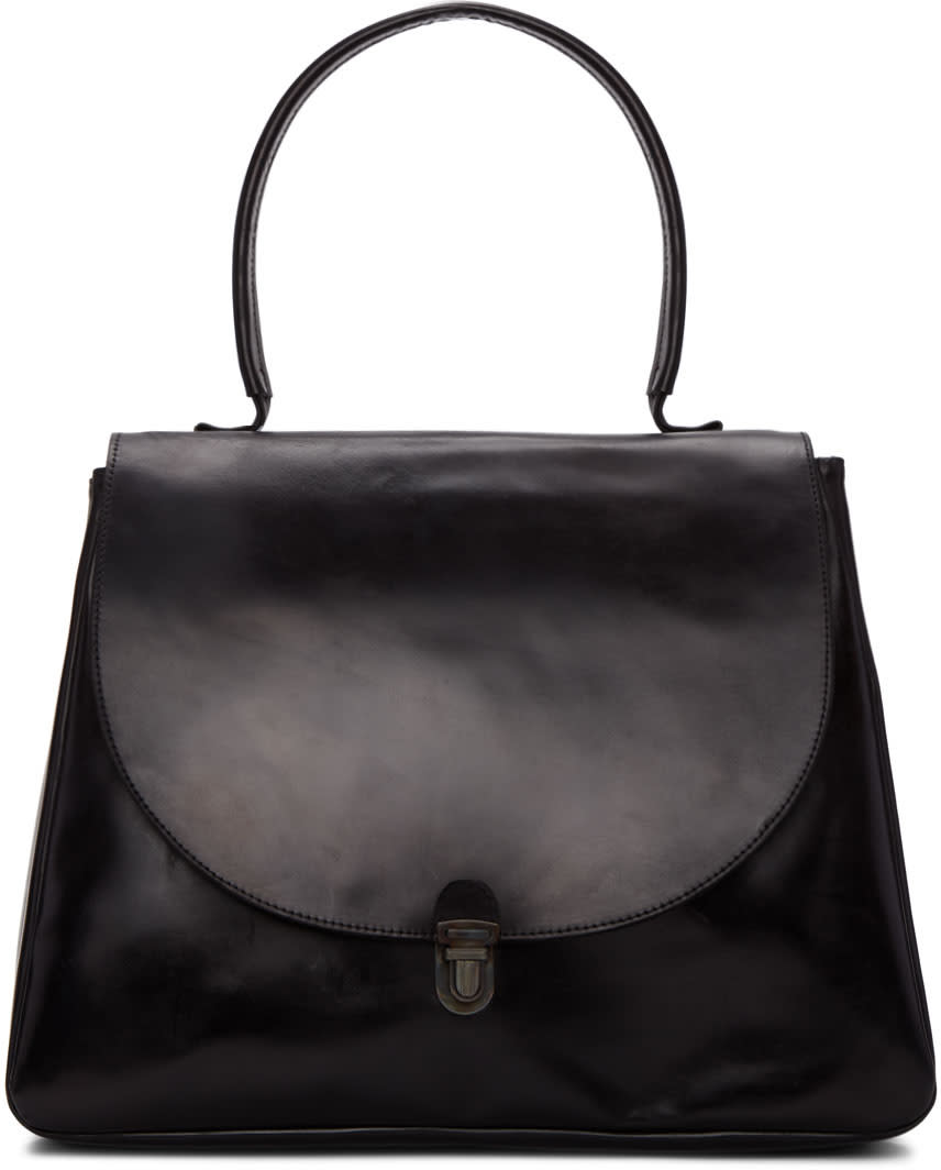 Image of Cherevichkiotvichki Black Large Lock Bag