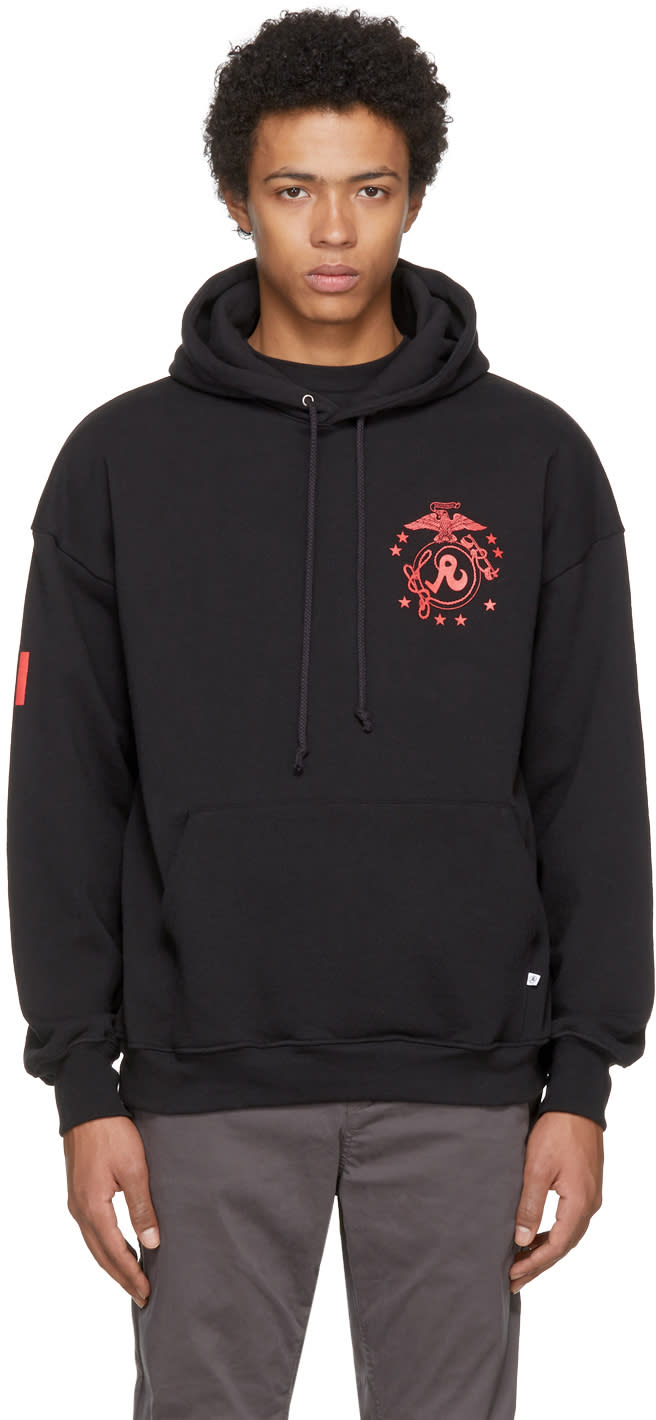 Image of Richardson Black Di Hoodie