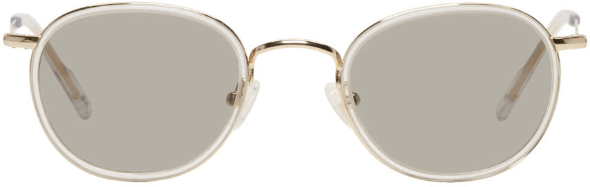 Image of All In Gold Japon Sunglasses