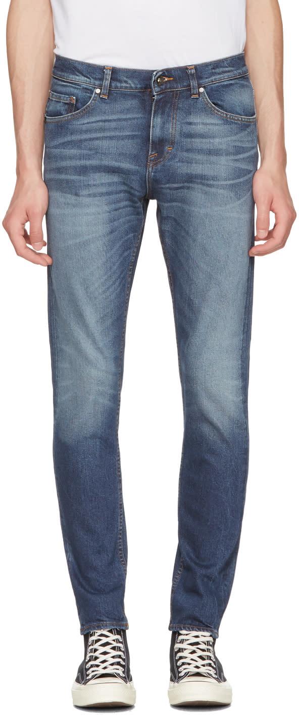 Image of Tiger Of Sweden Jeans Blue Evolve Jeans