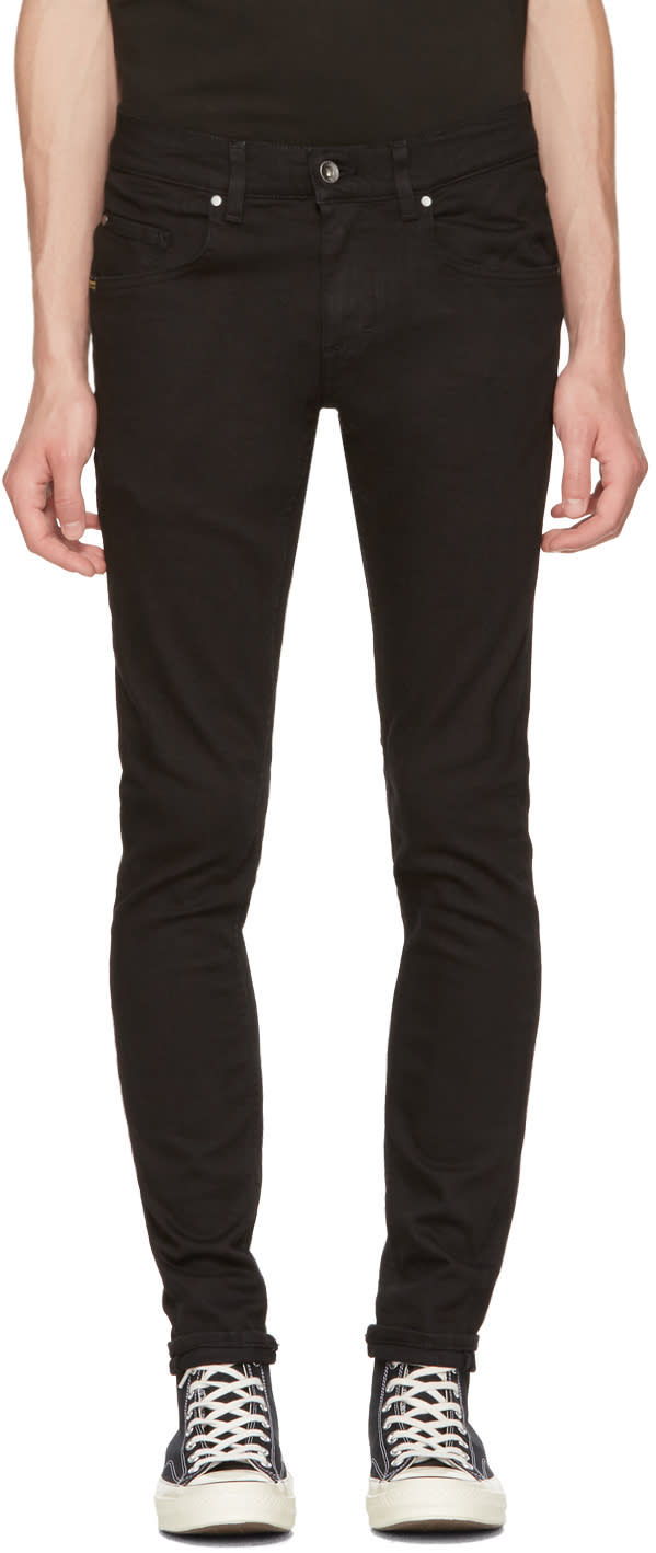 Image of Tiger Of Sweden Jeans Black Slim Jeans