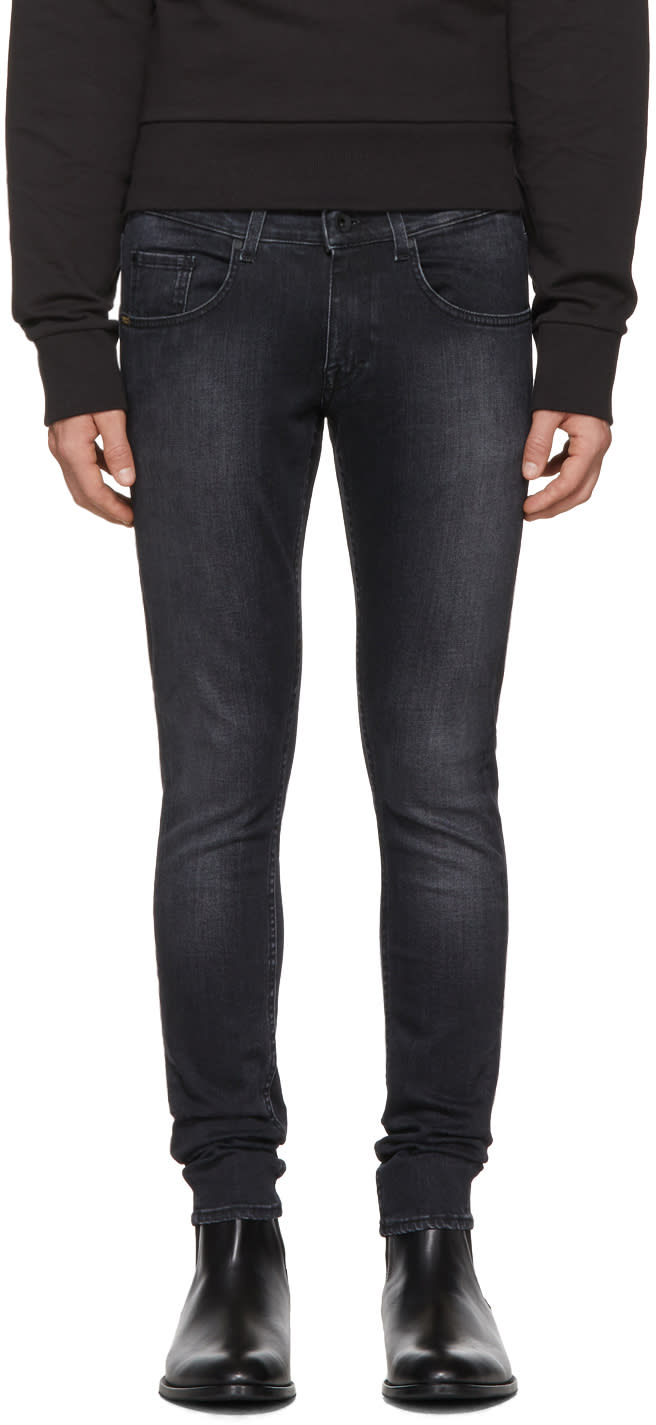 Image of Tiger Of Sweden Jeans Black Jimi Wash Jeans