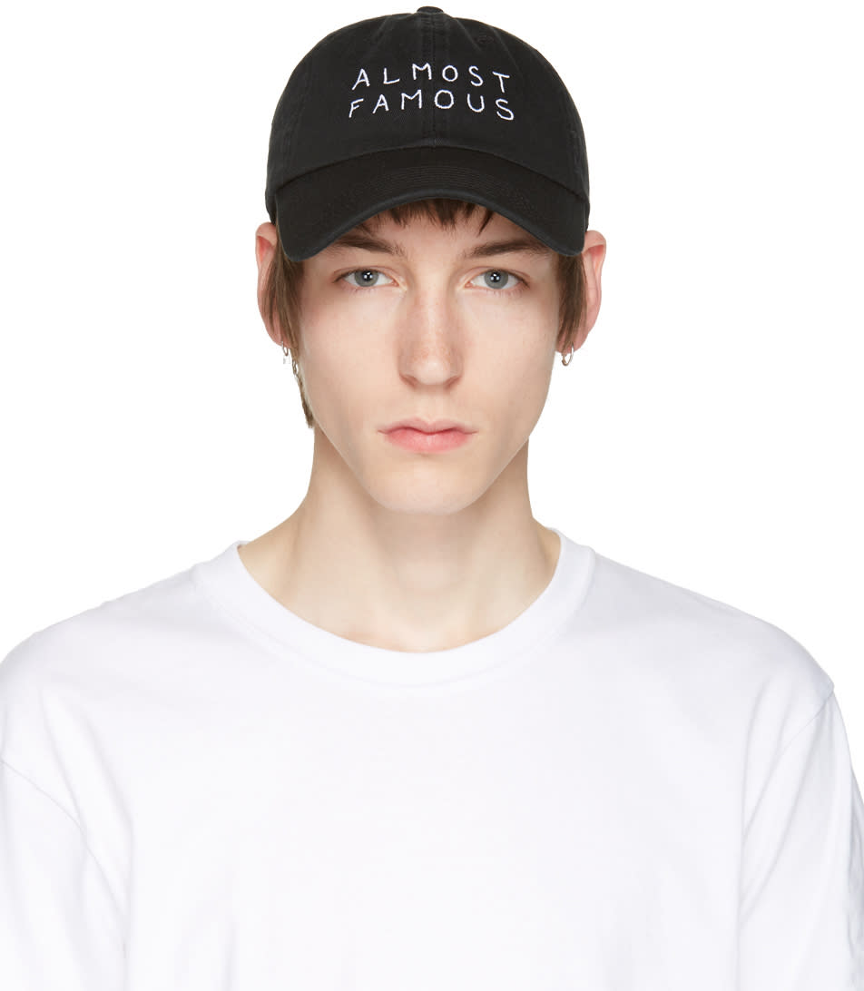 Nasaseasons Black almost Famous Cap