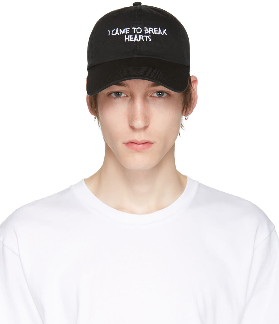 Nasaseasons Black i Came To Break Hearts Cap
