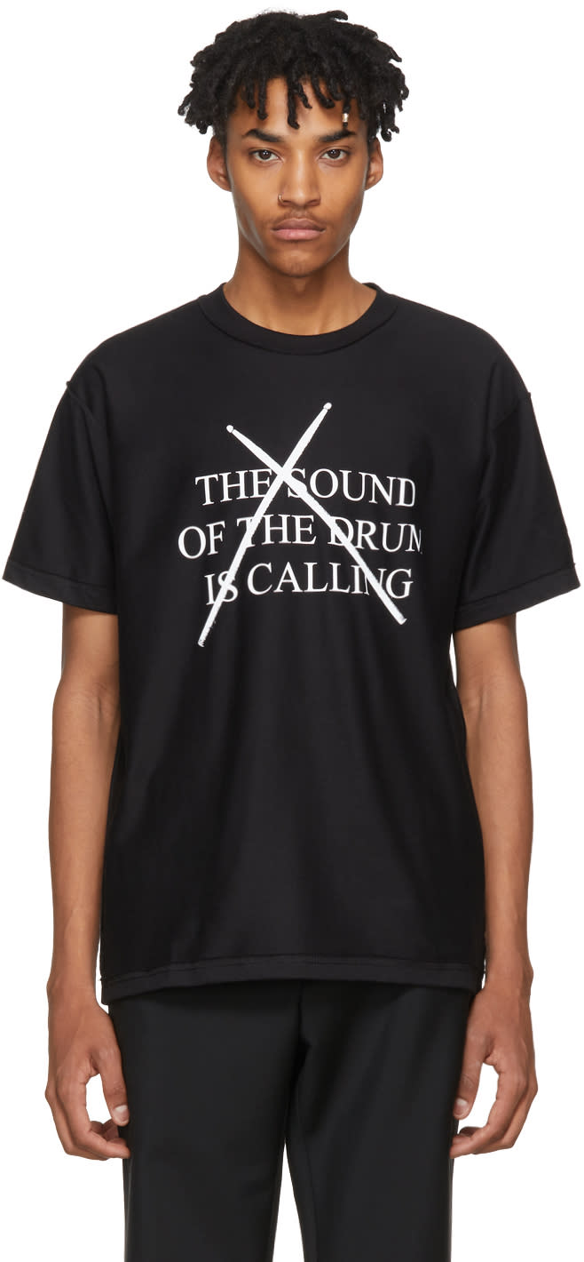 Image of Midnight Studios Black the Sound Of The Drum T-shirt