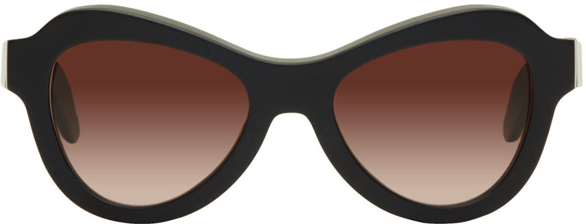 Image of Kuboraum Black Maske Y2 Sunglasses