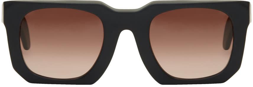 Image of Kuboraum Black Maske U3 Sunglasses