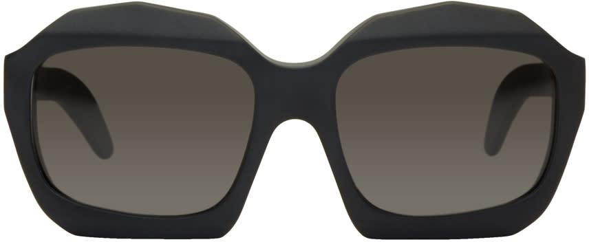 Image of Kuboraum Black Maske J4 Sunglasses