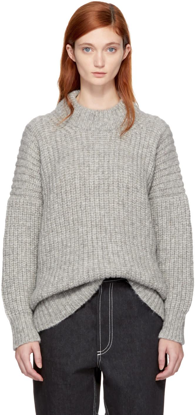 Image of Lauren Manoogian Grey Fisherwoman Sweater
