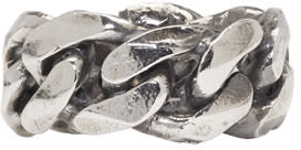 Image of Emanuele Bicocchi Silver Chain Ring