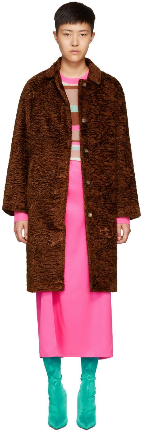 Image of Sies Marjan Brown Ripley Coat