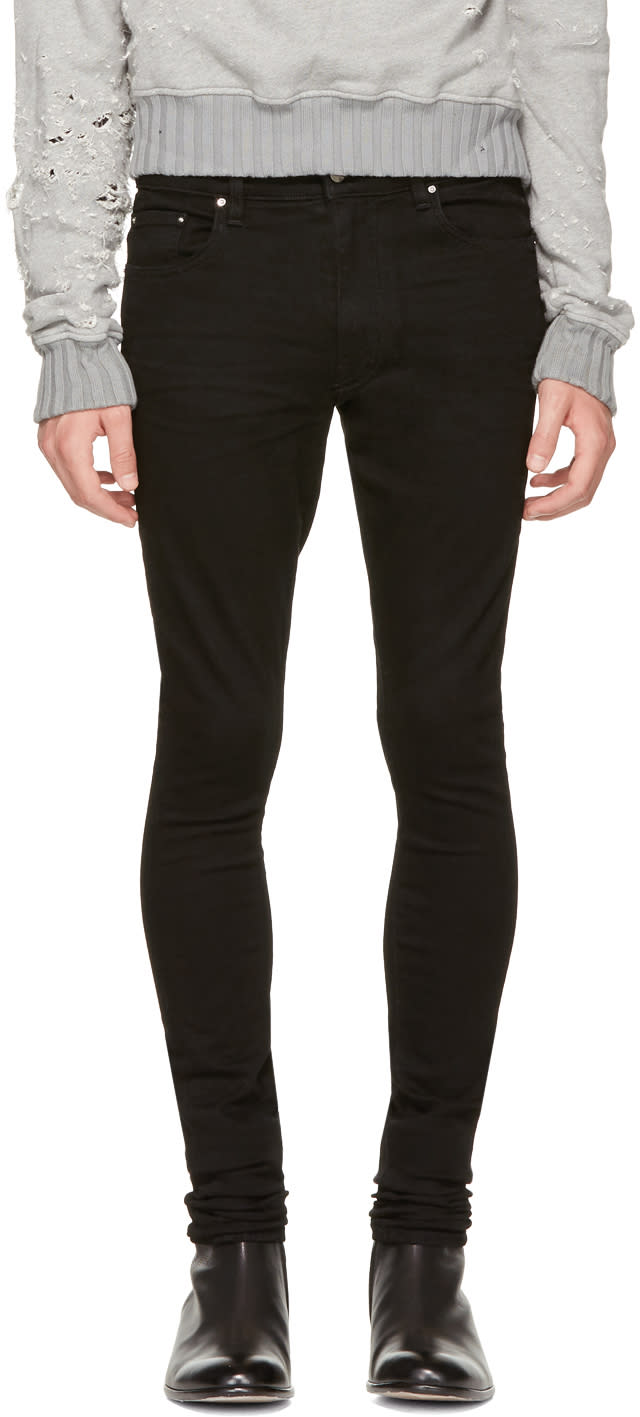 Image of Amiri Black Stack Jeans