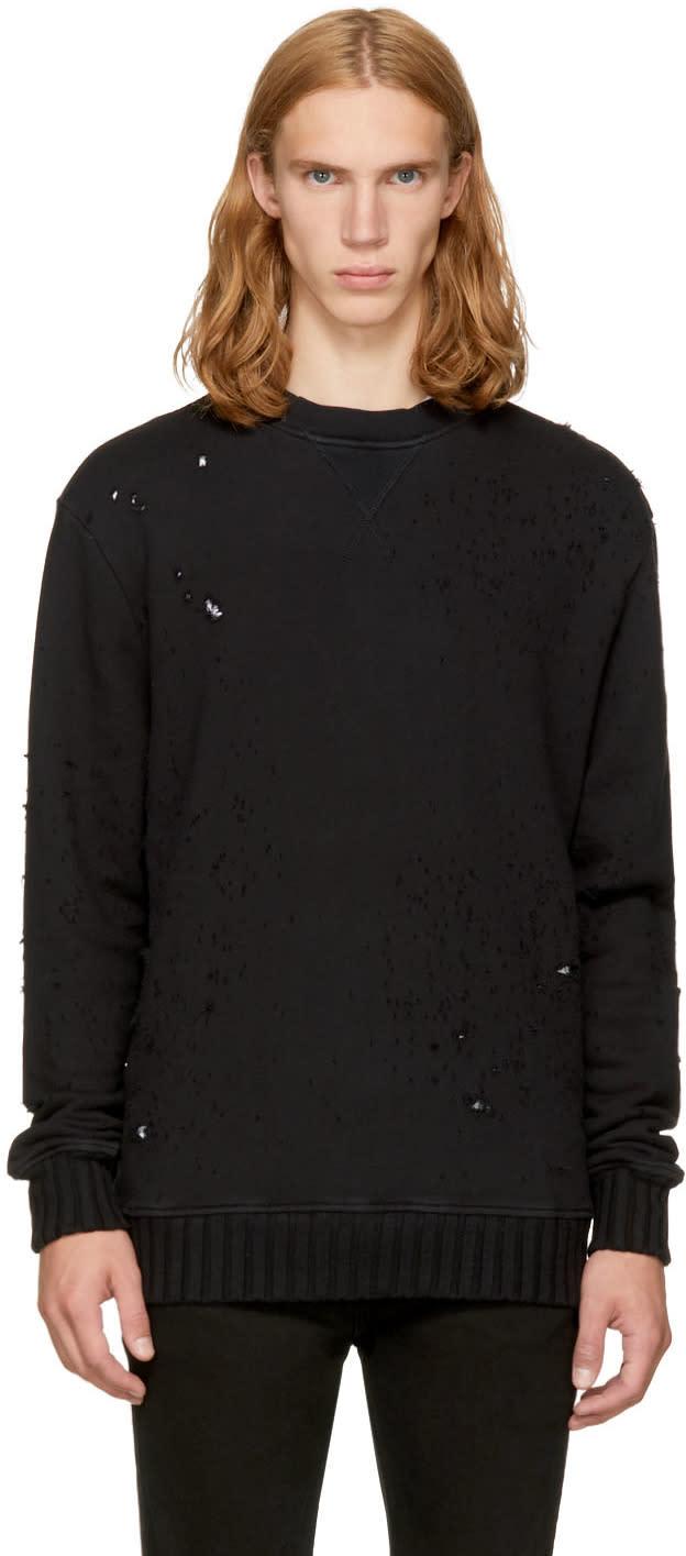 Image of Amiri Black Shotgun Sweatshirt