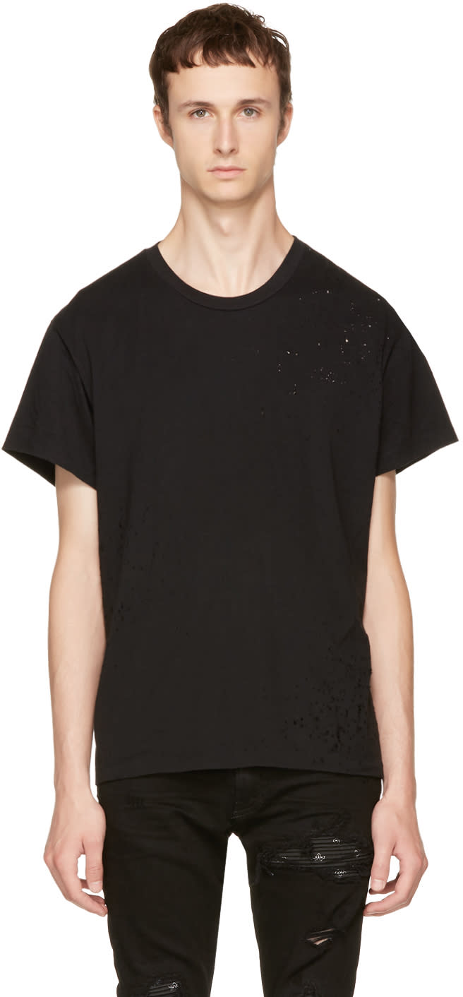 Image of Amiri Black Shotgun T-shirt