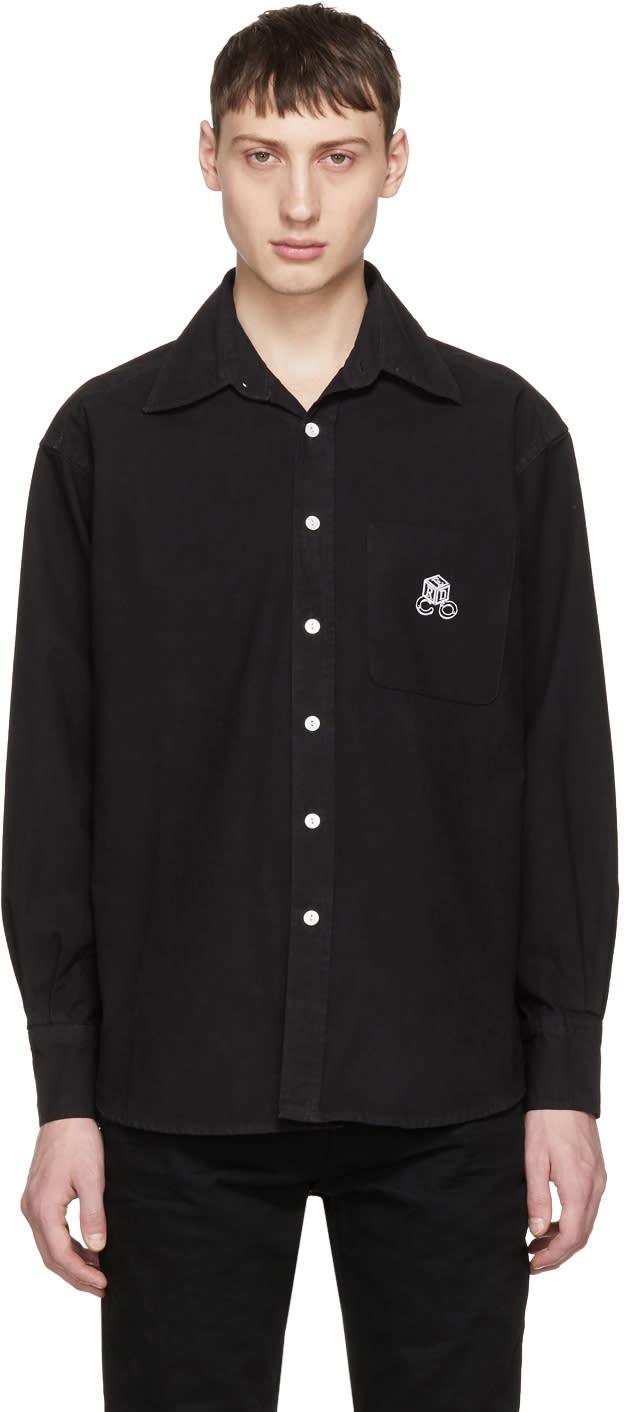 Image of Enfants Riches Déprimés Black high Risk-low Risk Shirt