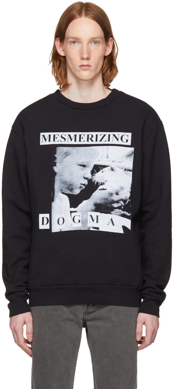 Image of Enfants Riches Déprimés Black mesmerizing Dogma Crewneck Sweatshirt