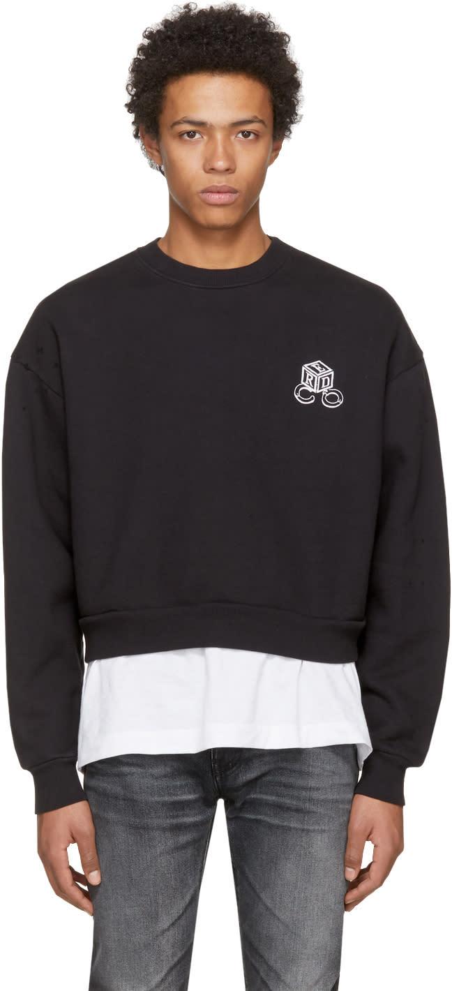 Image of Enfants Riches Déprimés Black high Risk Low Risk Sweatshirt