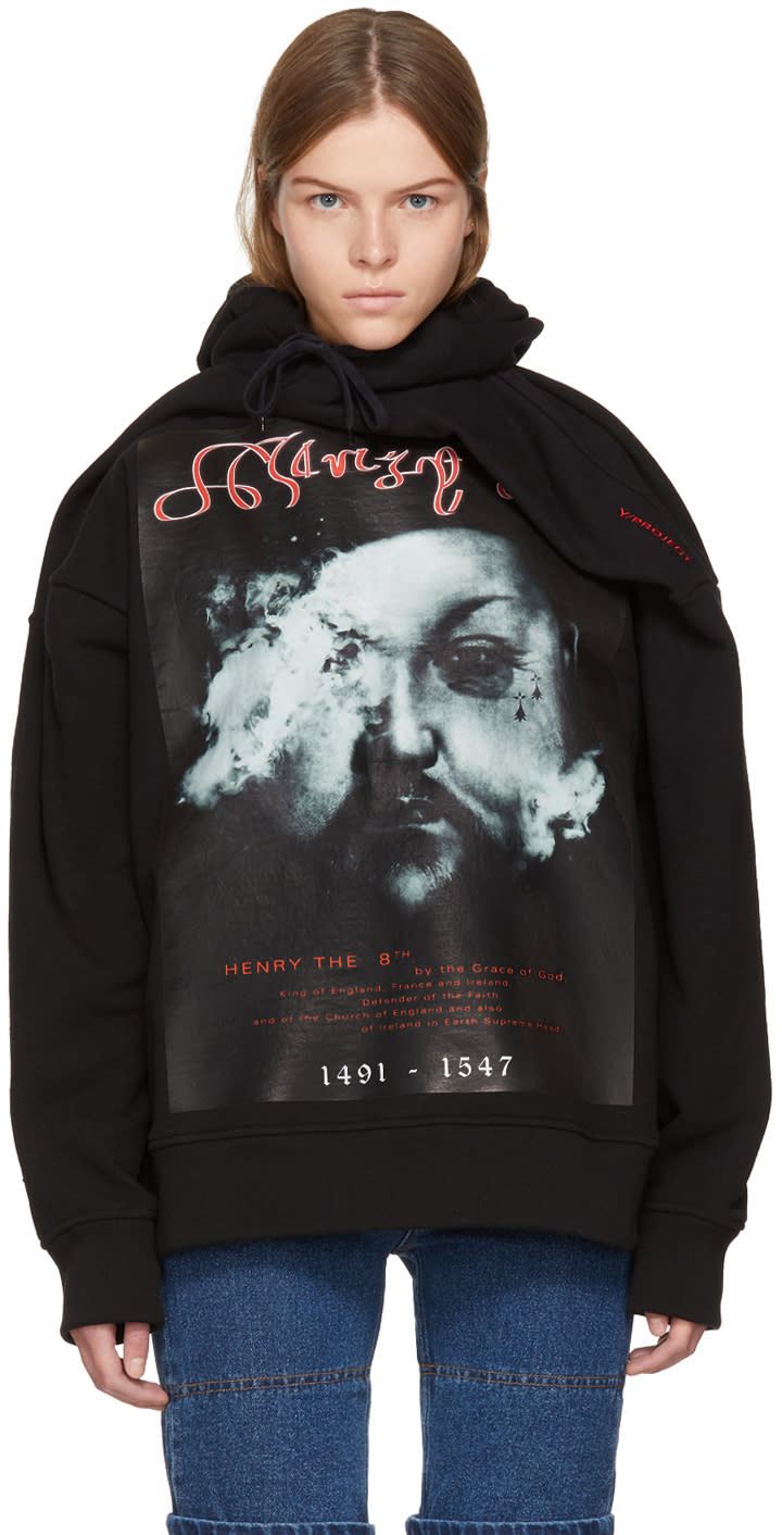 Image of Y-project Black henry The 8th Hoodie