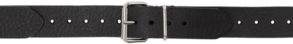 Image of Y-project Black Multi Buckle Belt