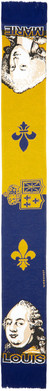 Image of Y-project Blue Louis and Marie Scarf