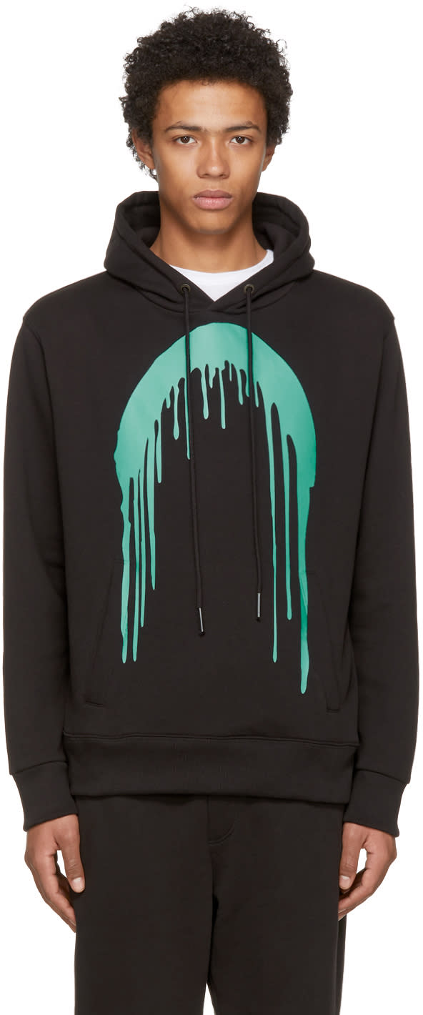 Image of Rochambeau Black Paint Core Hoodie