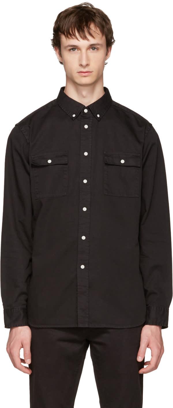 Image of Saturdays Nyc Black Angus Shirt