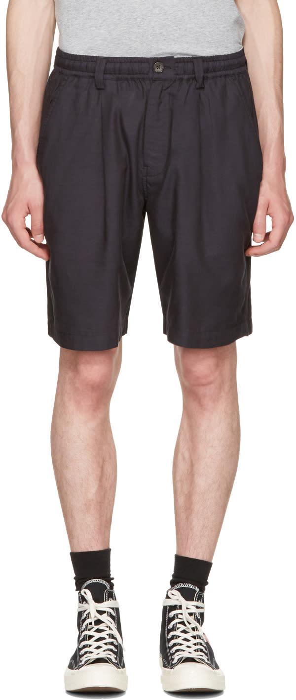 Saturdays Nyc Black Keigo Shorts