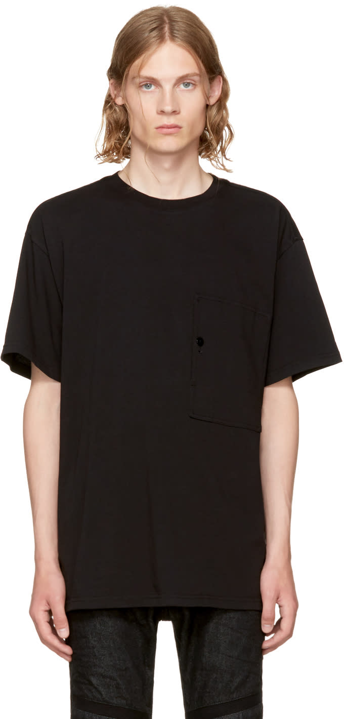 Image of Raw Research Black Stalt T-shirt