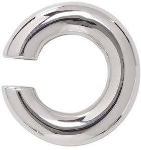 Image of Saskia Diez Silver Bold Ear Cuff