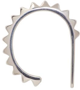Image of Saskia Diez Silver Pavé Ear Cuff