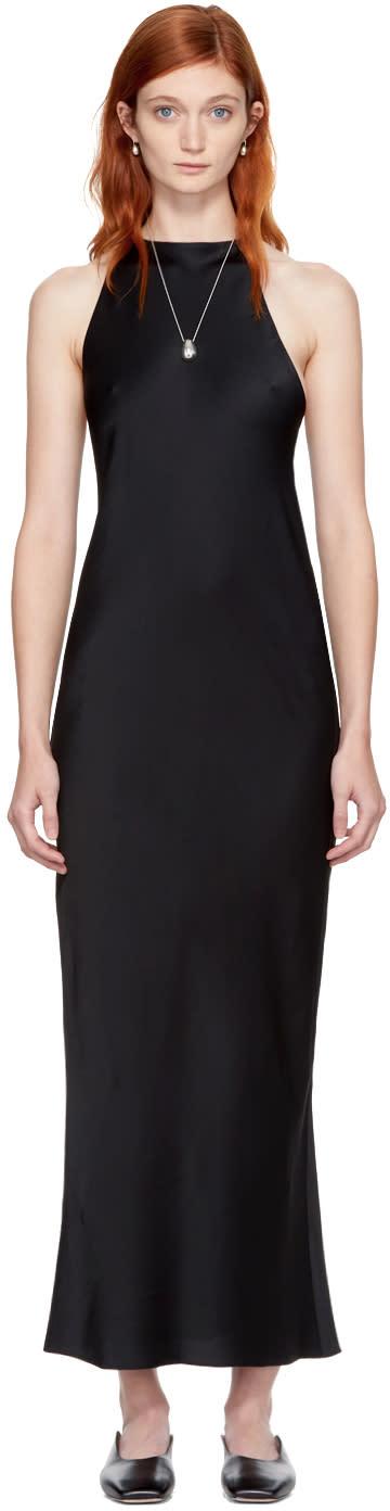 Image of Khaite Black Karen Dress