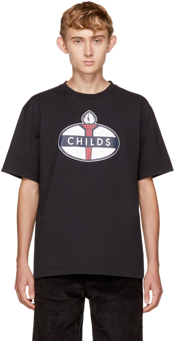 Image of Childs Black Logo T-shirt
