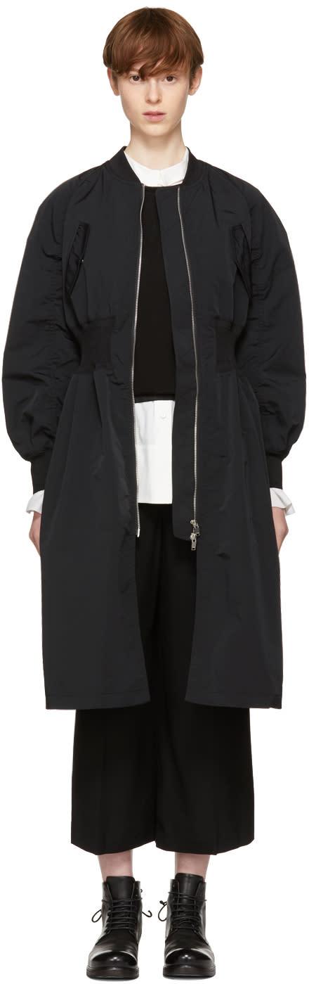 Image of Kuho Black Verbena Coat