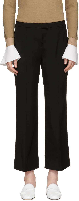 Image of Kuho Black Flared Rodi Trousers