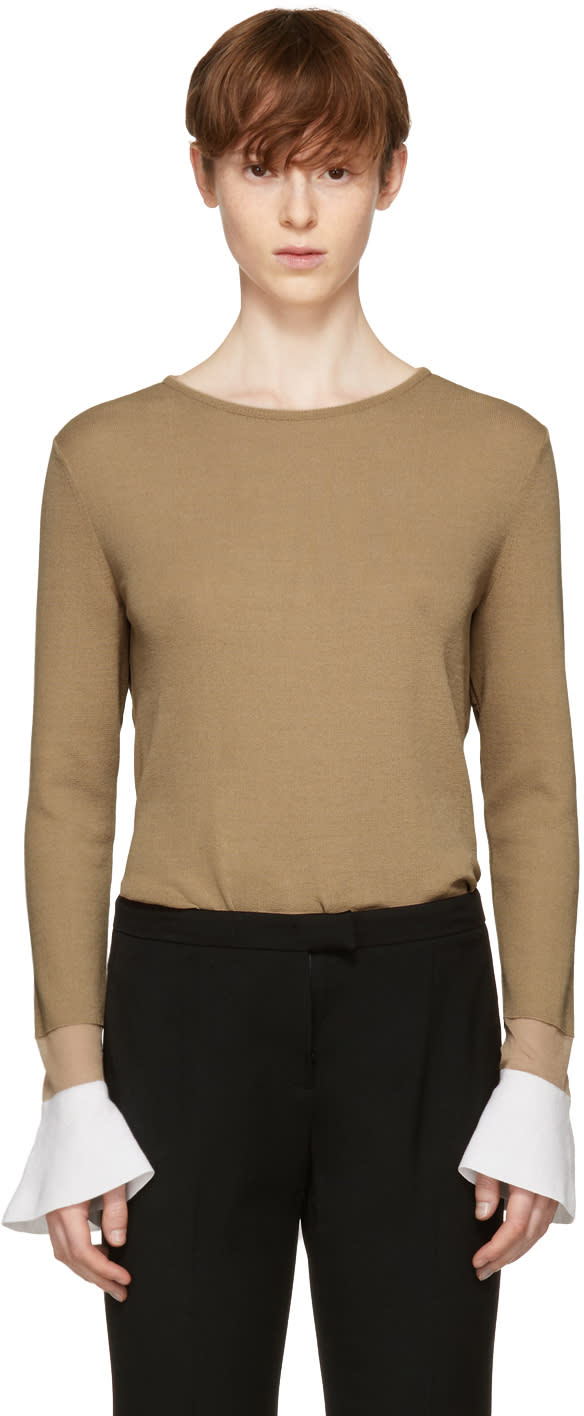 Image of Kuho Beige Doni Sweater
