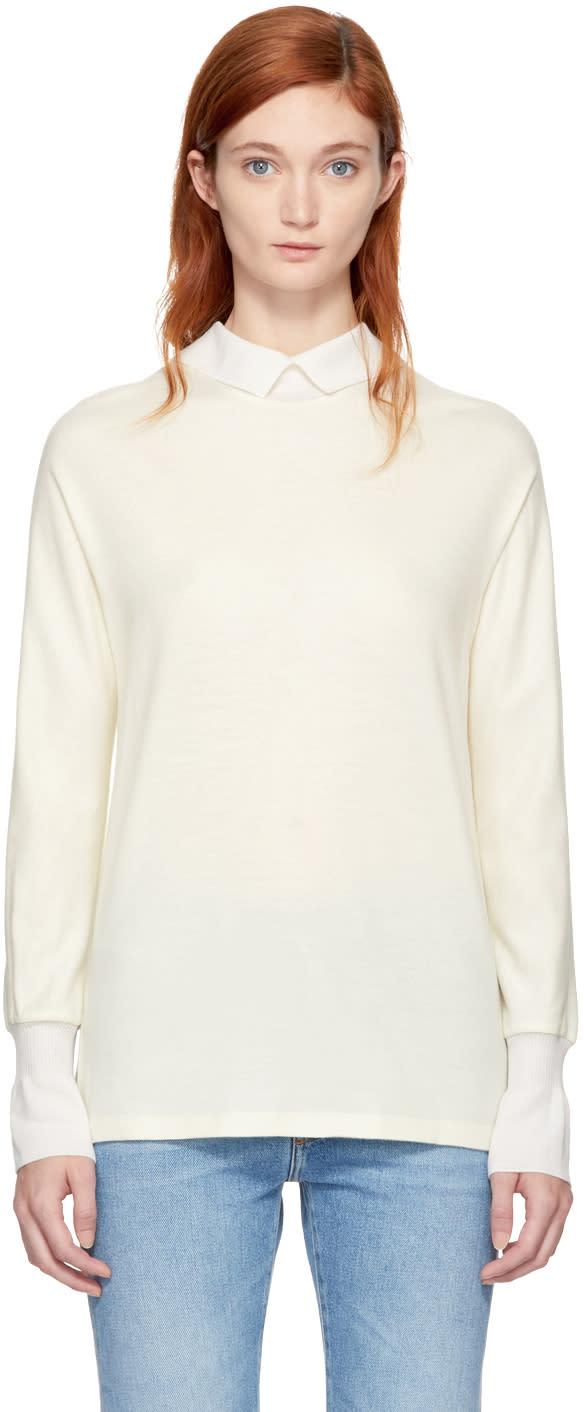 Image of Kuho Ivory Long Sleeve Thiene T-shirt