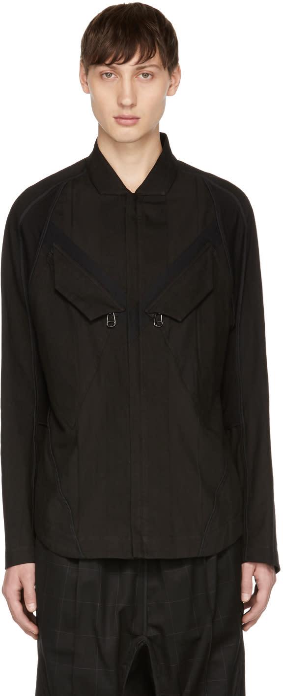 Image of Abasi Rosborough Black Tactical Shirt