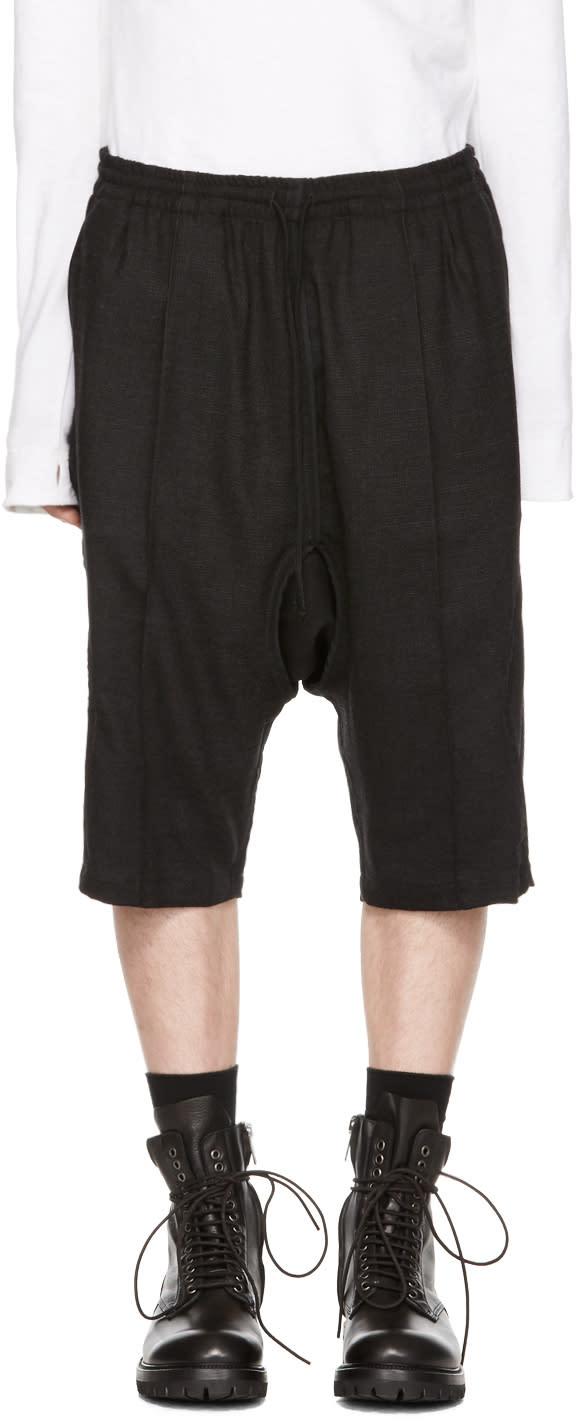 Image of Abasi Rosborough Black Kyoto Shorts